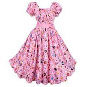 Dress Shop Disney Dooney & Burke Pink Dog Dress